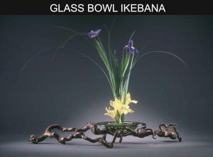 GLASS-BOWL-IKEBANA